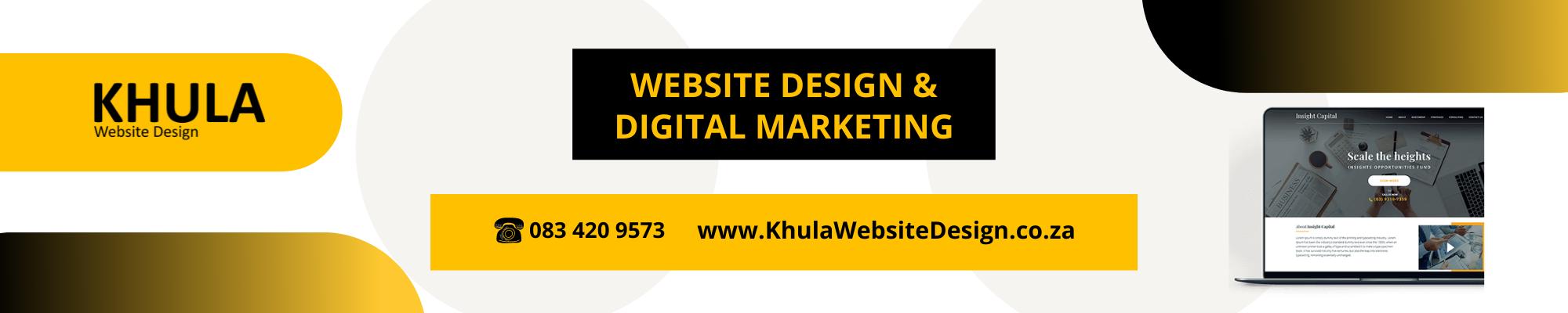 WEBSITE DESIGN & DIGITAL MARKETING